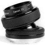LENSBABY COMPOSER PRO II SWEET 35 Nikon recenze
