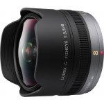 Panasonic 8mm f/3,5 recenze
