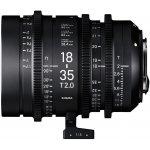 SIGMA CINE 18-35mm T2 EF Canon recenze