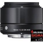 Sigma 19mm f/2,8 DN Art Olympus recenze