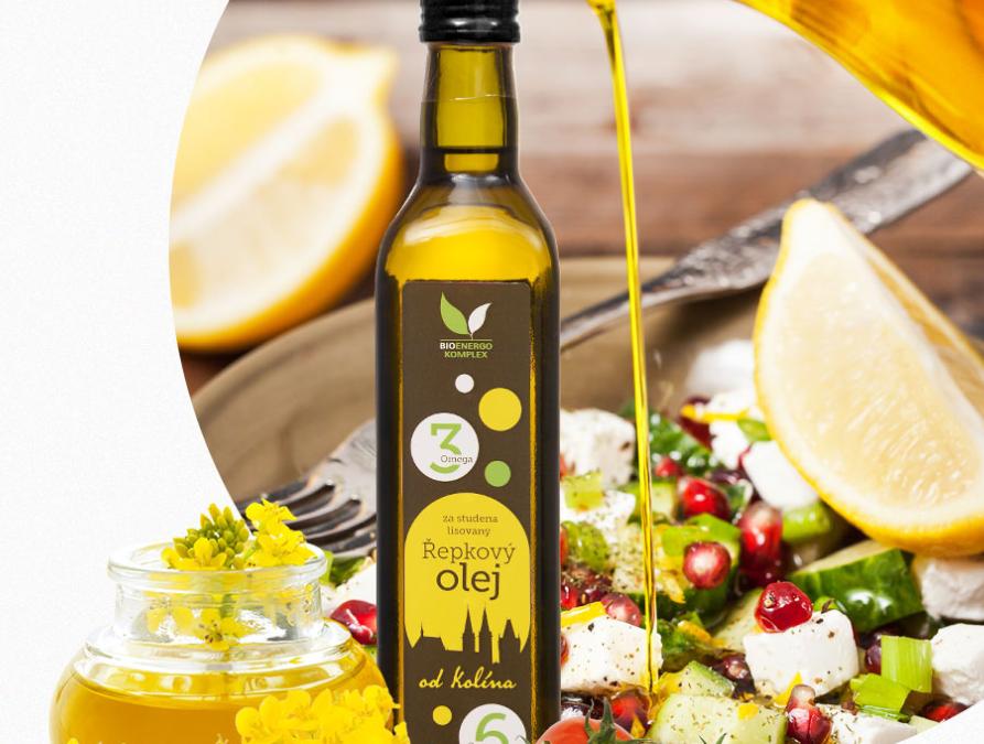 Řepkový olej pro jarní očistu