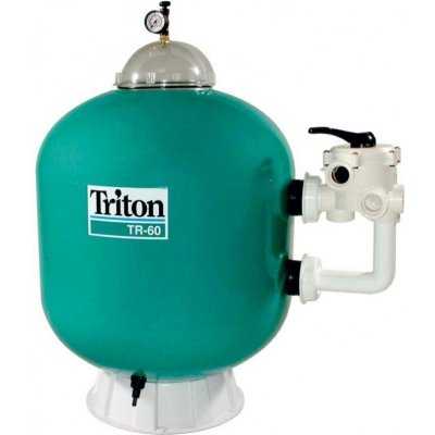 VÁGNER POOL TRITON – TR 100 Filtrační nádoba 22 m3/h, boční recenze